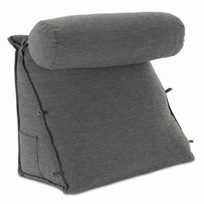 Nackenstützkissen, »Rückenkissen mit Nackenrolle«, aktivshop