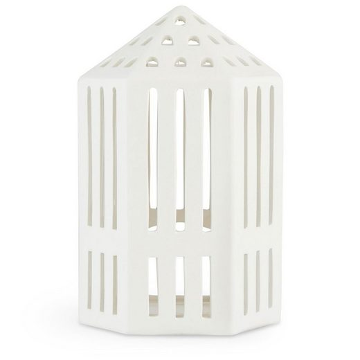 Kähler Teelichthalter »Lichthaus Urbania Gallerie; Teelichthaus aus Keramik«