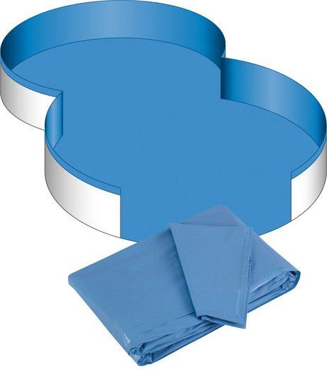 CLEAR POOL Pool-Innenhülle für Achtformbecken, 0,6 mm Stärke, in versch. Größen