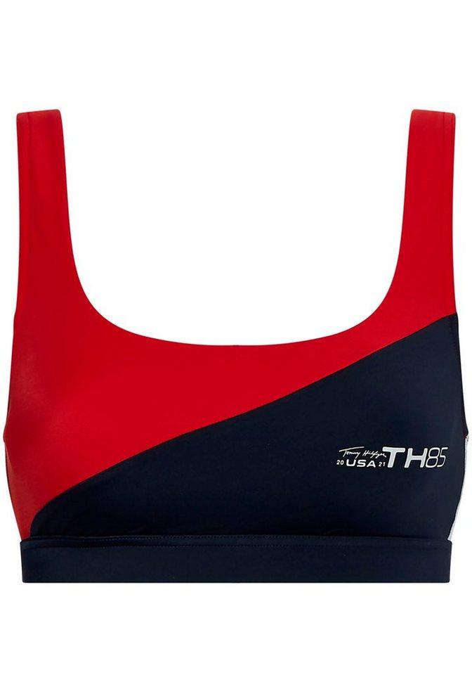Bademode - Tommy Hilfiger Bustier Bikini Top, im sportlichen Design ›  - Onlineshop OTTO
