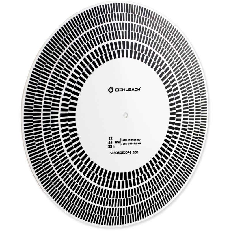 Oehlbach »Speed Check Stroboskopscheibe - weiß« Plattenspieler