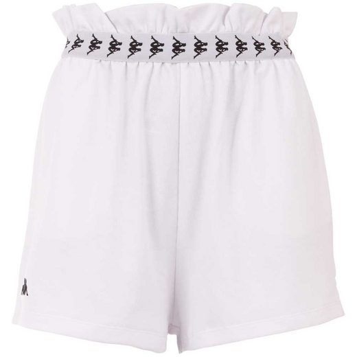 Kappa Shorts »AUTHENTIC GALLA« in sportlichem Paperbag Look