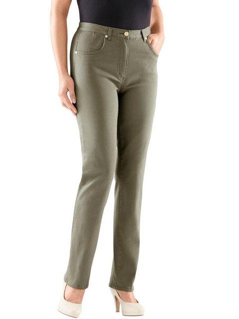 Hosen - Classic Bequeme Jeans › grün  - Onlineshop OTTO