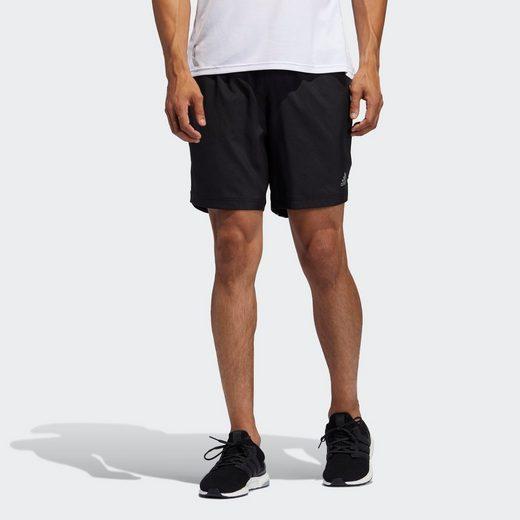 adidas Performance Shorts »Run It 3-Streifen Shorts«