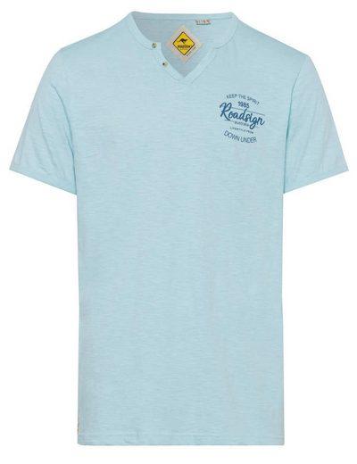 ROADSIGN australia T-Shirt »Heat Wave« mit Knopfleiste