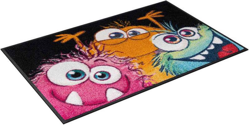 Fußmatte »Spookies«, wash+dry by Kleen-Tex, rechteckig, Höhe 7 mm, waschbar