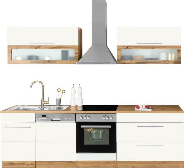 Einbauküchen - HELD MÖBEL Küchenzeile »Wien«, ohne E Geräte, Breite 270 cm  - Onlineshop OTTO