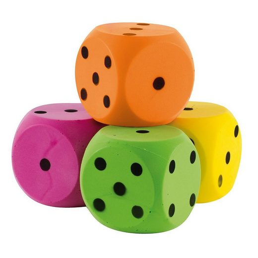 JOHN Spielball »Softwürfel«