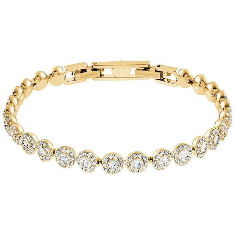 Swarovski Armband »Swarovski Armband 5505469 Angelic, weiss, Vergolde« (kein set, inkl. Schmuckbox)