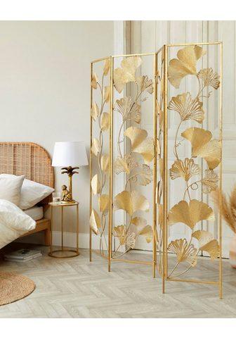 Schneider Širma »Paravent Golden Leaves« Art déc...
