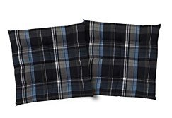 Sitzkissen, Tom tailor, »New Check« (2er Pack) in blau
