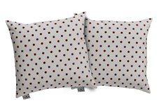Kissenhülle, Tom tailor, »Dots« (2er Pack) in natur/pink