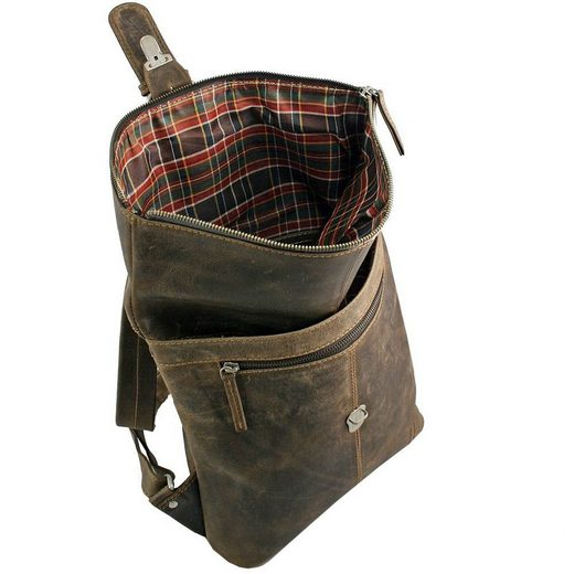 GREENLAND Westcoast Rucksack Leder 33 cm