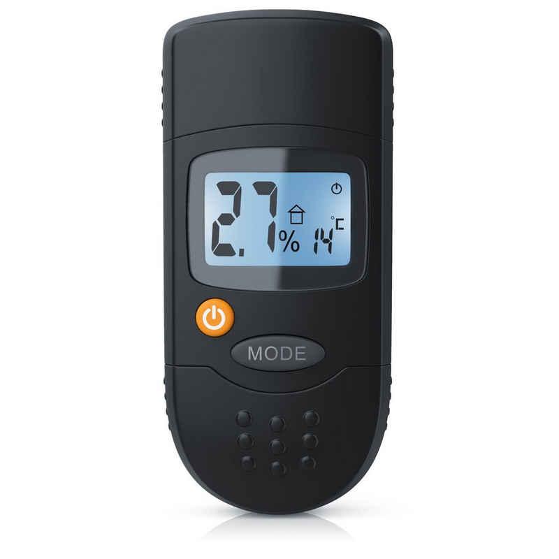 """Brandson Feuchtigkeitsmesser, Holzfeuchtigkeitsmessgerät Messbereich 6% - 44% / 1,2"""" LCD-Display"""