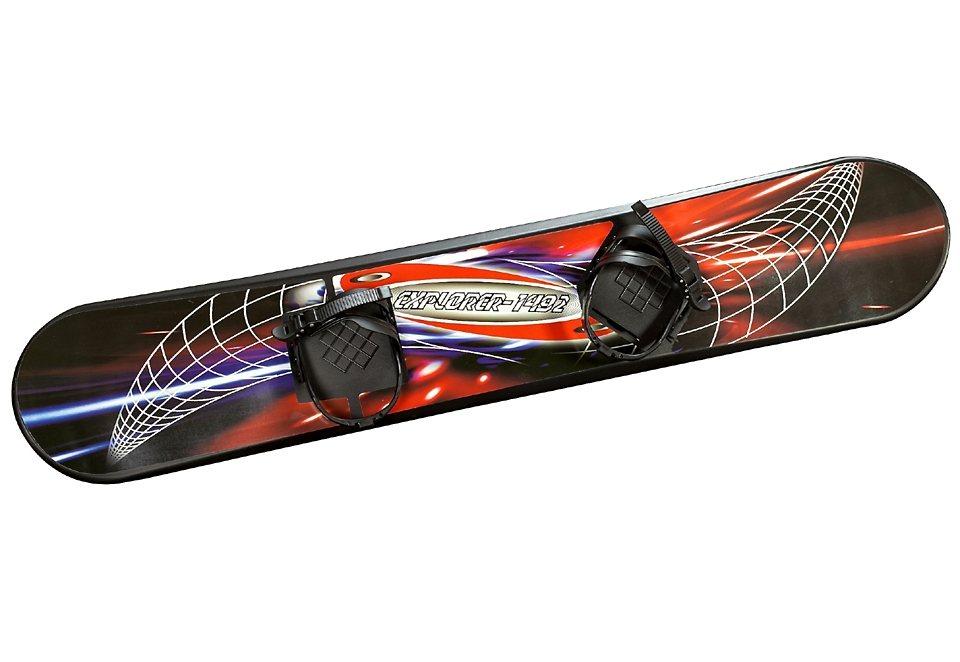 Kinder-Snowboard, Spartan, »Snowboard Senior 130 cm« in schwarz-bunt