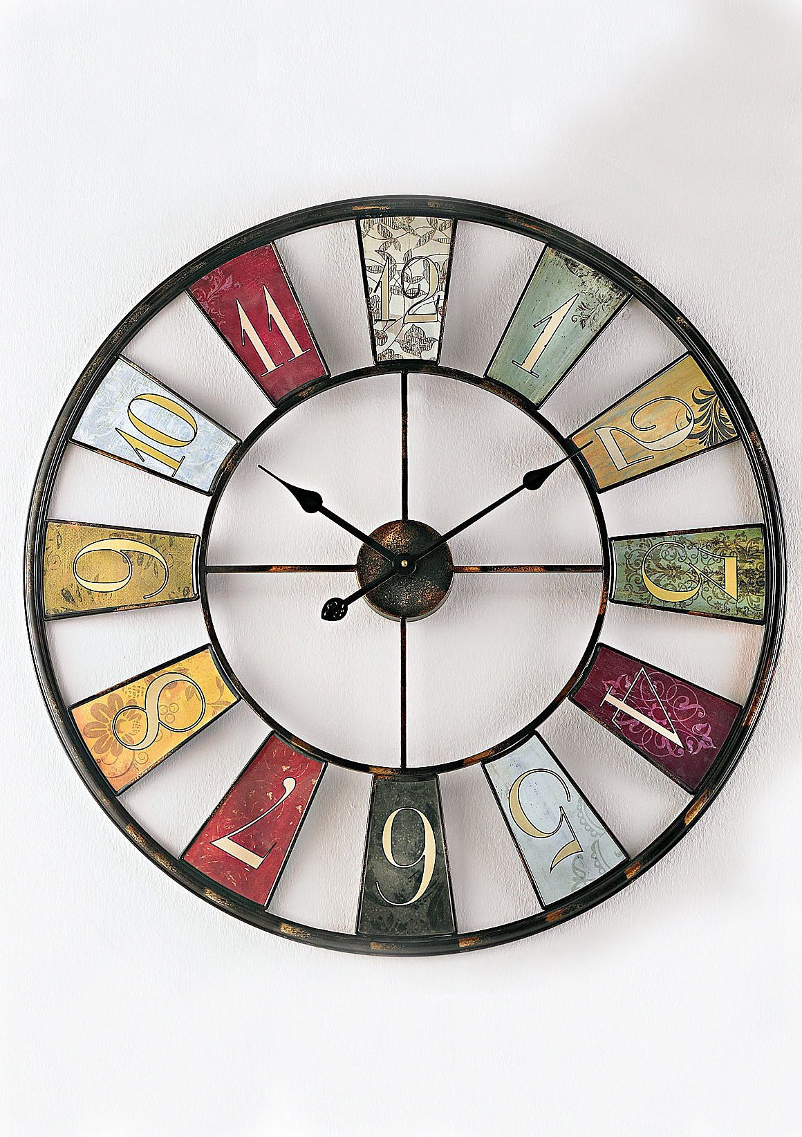 Home affaire Wanduhr »Wheel«