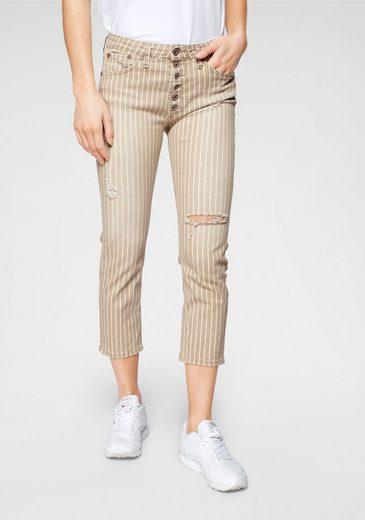 Please Jeans 7/8-Jeans »P36H« mit Destroyed Effekten