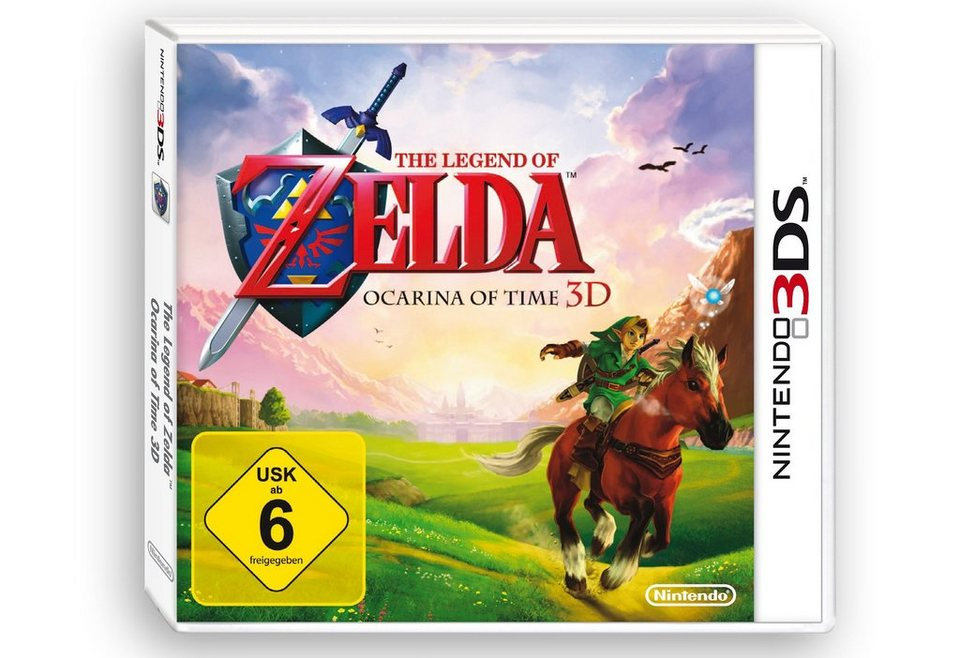 Zelda: Ocarina of Time Nintendo 3DS