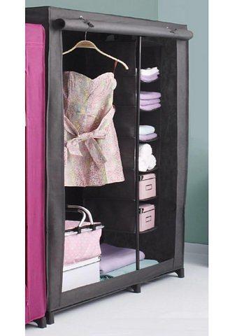 kleiderschrank wenko mit mobilem w schesortierer 6 f cher online kaufen otto. Black Bedroom Furniture Sets. Home Design Ideas