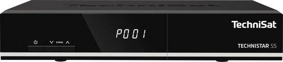 TechniSat »TECHNISTAR S5 HD-« Satellitenreceiver (LAN (Ethernet), mit PVR Aufnahmefunktion über USB, HDMI, CI)