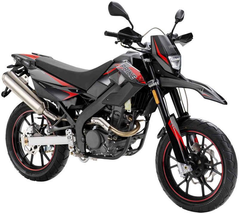 PRIKE Motorrad »PXM 125 Supermoto«, 125 ccm, 102 km/h, Euro 4, Tageszulassung 11/20