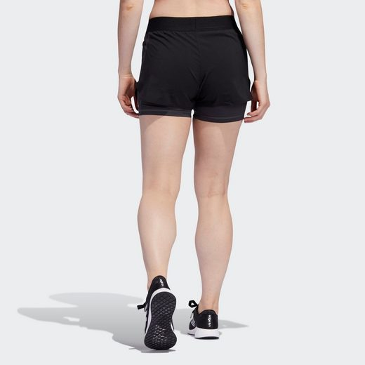 adidas Performance Shorts  Alphaskin Two-in-One Shorts