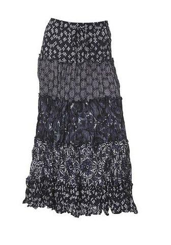 CASUAL юбка с печатным рисунком в соче...