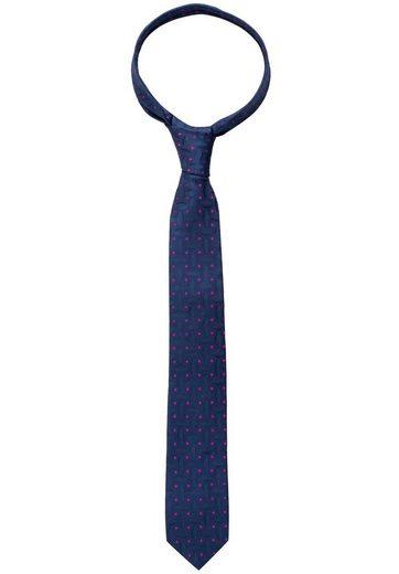Eterna Krawatte »schmal« Krawatte