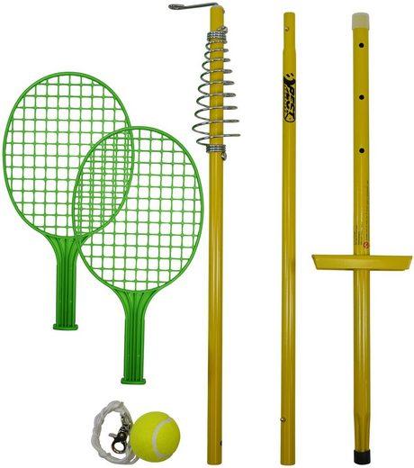 Tennisschläger »64009 Circletennis - Twistball gelb« (Set, 5-tlg), mit Stange und Ball