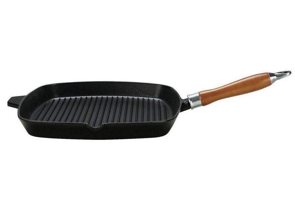 Steakpfanne, Krüger, »RUSTICA« in schwarz
