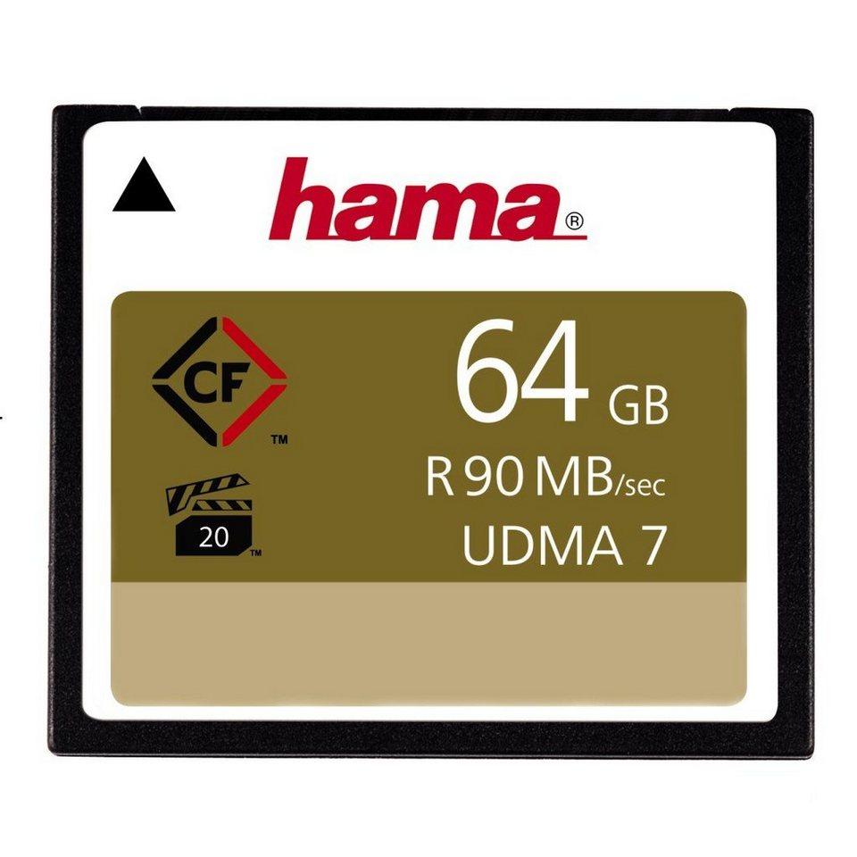 Hama Speicherkarte CompactFlash 64 GB, 90 MB/s in Coloured
