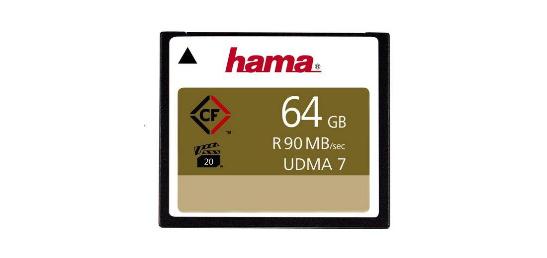 Hama Speicherkarte CompactFlash 64 GB, 90 MB/s