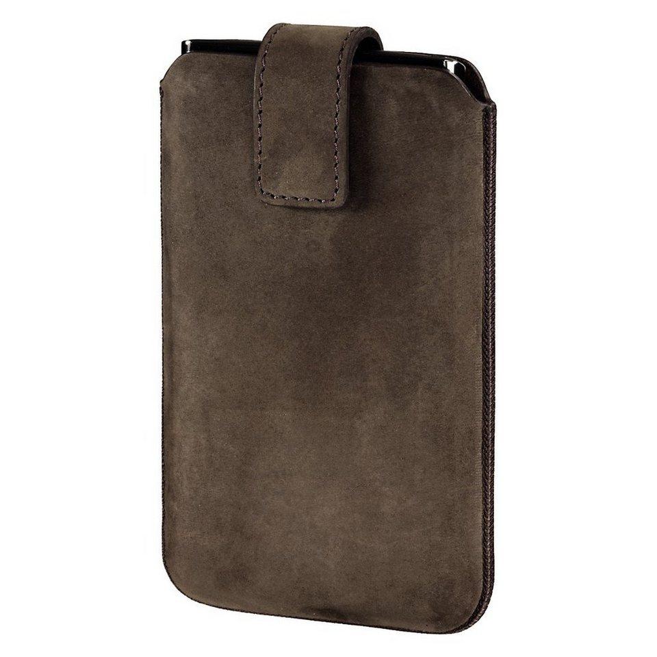 Hama Smartphone-Sleeve Chic Case, Gr. L, Braun in Braun