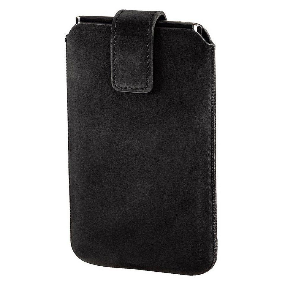 Hama Smartphone-Sleeve Chic Case, Gr. L, Schwarz in Schwarz