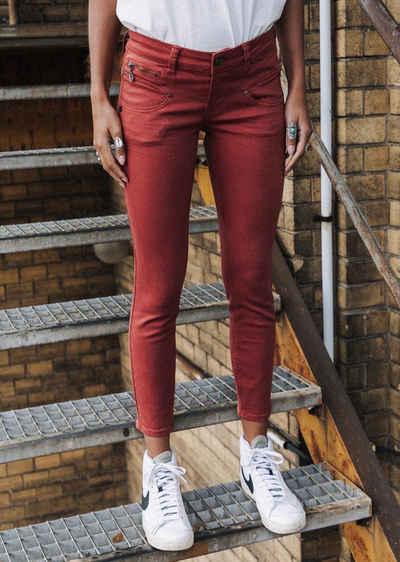 Freeman T. Porter 7/8-Hose »Alexa Cropped New Magic Color red ochre«