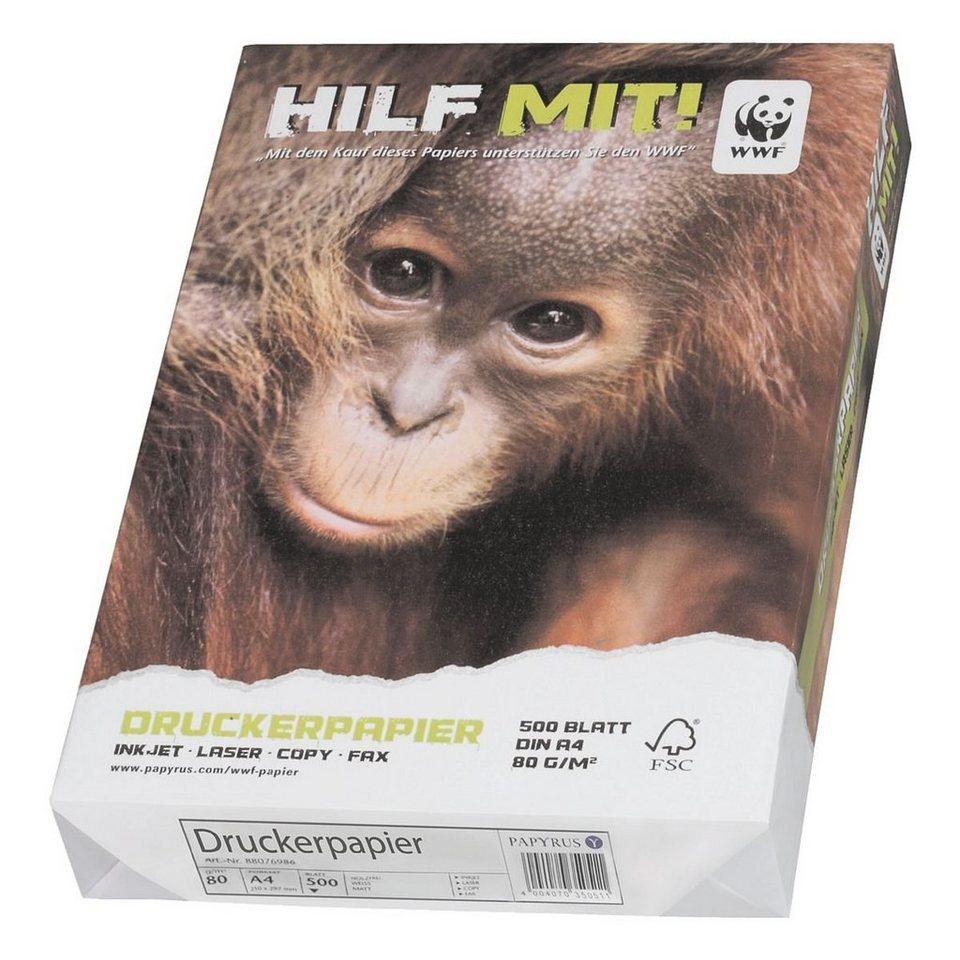 Multifunktionales Druckerpapier »WWF«