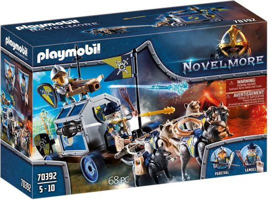 Playmobil® Konstruktions-Spielset »Schatztransport (70392), Novelmore«, ; Made in Germany