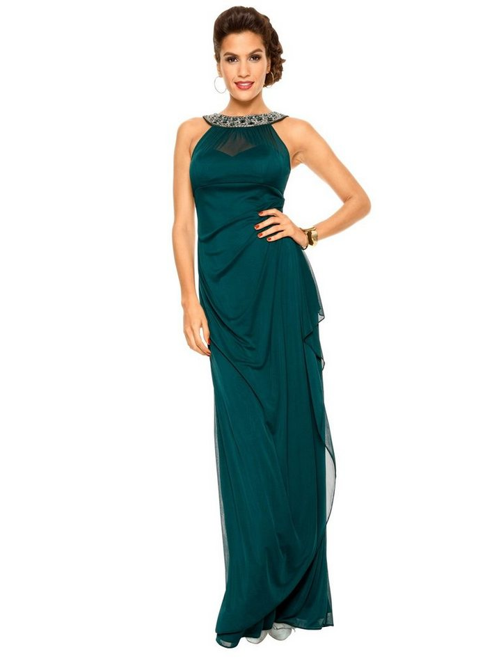 Festtagsmode - PATRIZIA DINI by Heine Abendkleid »Abendkleid« › grün  - Onlineshop OTTO