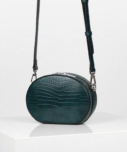 Seidenfelt Mini Bag »Odense«, in runder Form