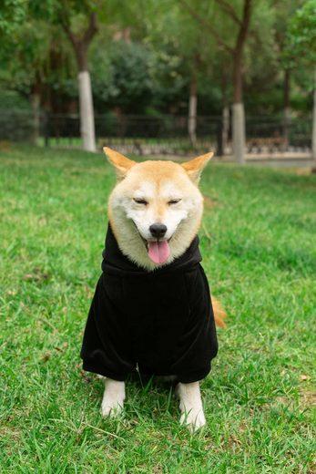 RAIKOU Hundemantel »RAIKOU Hund Hoodies Kleidung Coat Pullover Hund Recovery Suit Haustierkleidung Schutz Hundewarmweste mit Reflexstreifen«, sehr süß und stilvoll