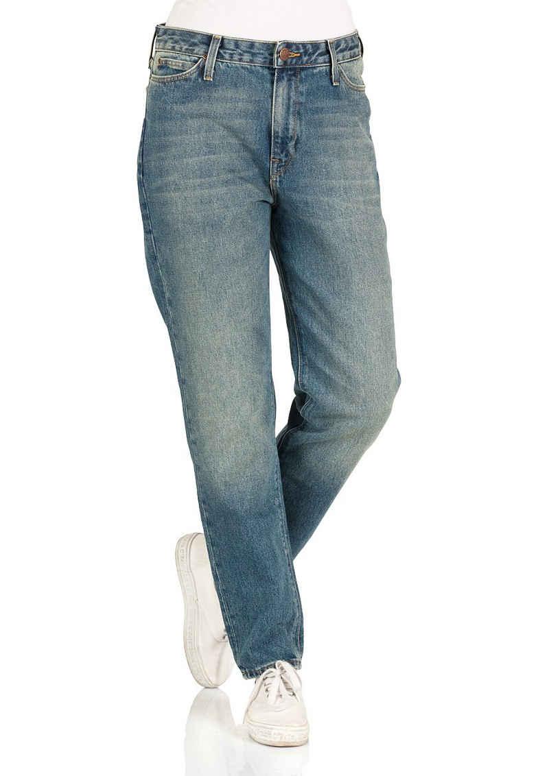 Lee® Straight-Jeans »Mom« aus 100% Baumwolle