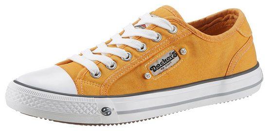 Dockers by Gerli Slip-On Sneaker mit Logoschriftzug