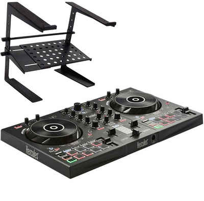 HERCULES DJ Controller »Hercules DJ Inpulse 300 Controller +Laptopständer«