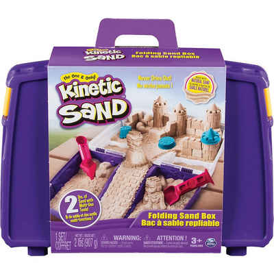 Spin Master Spielsand »Kinetic Sand™ Transportabler Sandkasten, 907g +«
