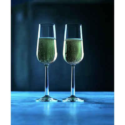 Rosendahl Champagnerglas »Grand Cru Champagnerglas 2er Set«, bleifreies Glas
