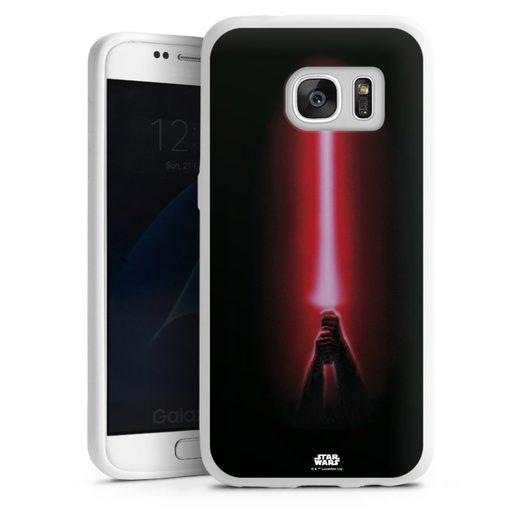 DeinDesign Handyhülle »Sith lightsaber - Star Wars« Samsung Galaxy S7, Hülle Fanartikel Laserschwert Star Wars