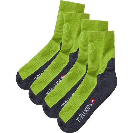 TROLLKIDS Socken »Kinder Socken TREKKING II Doppelpack«