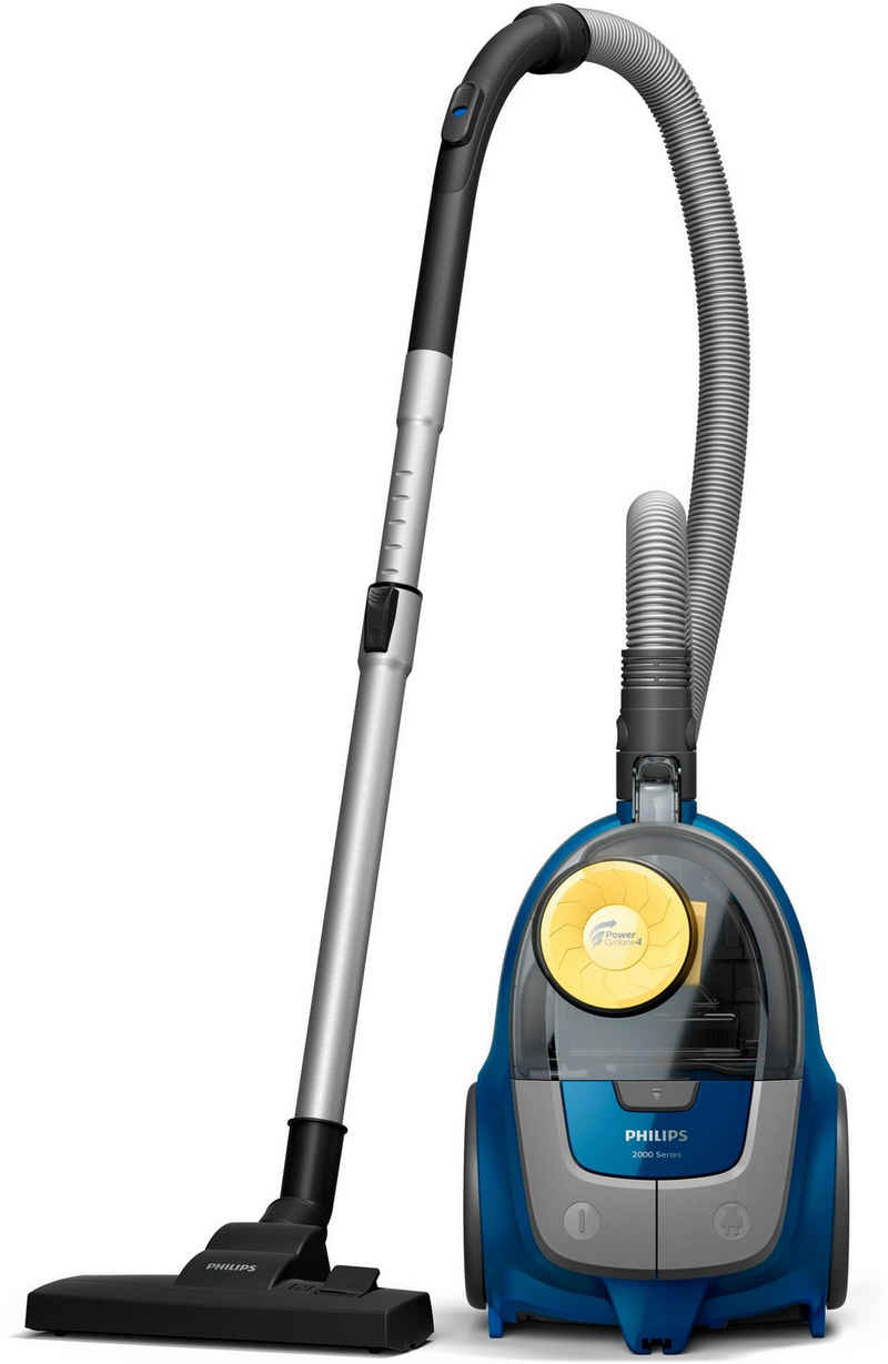 Philips Bodenstaubsauger 2000 Series XB2125/09, 850 Watt, beutellos