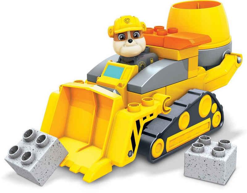 Mattel® Konstruktionsspielsteine »Paw Patrol - Rubbles Baustellenlaster - Mega Bloks - GYW91«