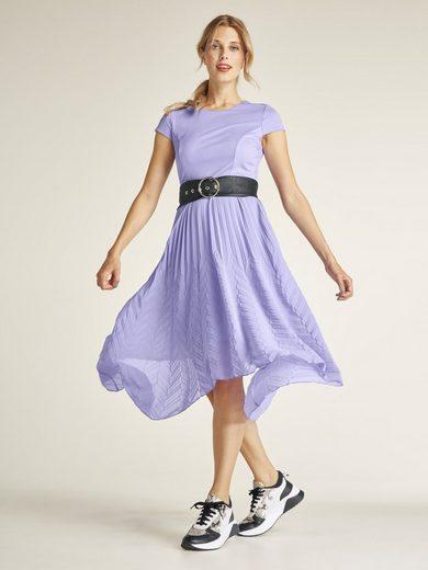 heine STYLE Kleid im Materialmix